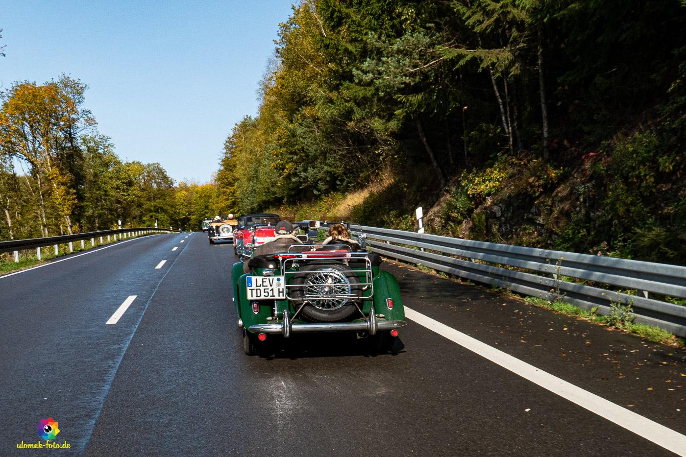 Ausfahrt MG Stammtisch Bergisch Land 13.10.19