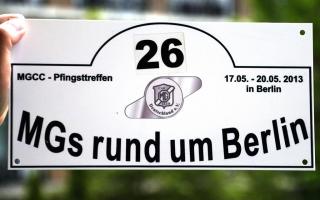 """Pfingstmeeting MGCC 17.05--20.05.2013 """"Rund um Berlin"""""""
